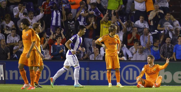 Valladolid-Real Madrid 1-1