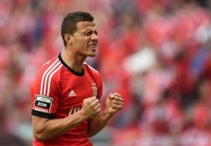 Siviglia-Benfica: Lima, attaccante dei portoghesi, sta trascinando la sua squadra