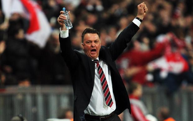 Van Gaal, tecnico Manchester United