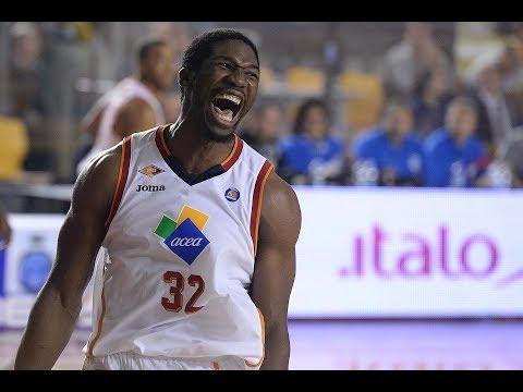 14 punti e 20 rimbalzi per Mbakwe che travolge Cantù regalando il successo a Roma.
