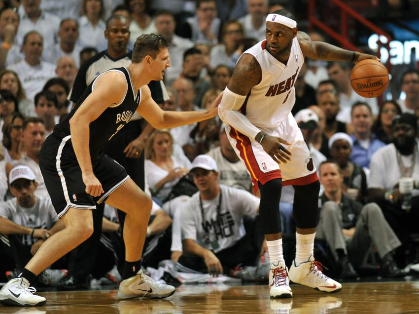 Nba, Miami-Brooklyn 107-86