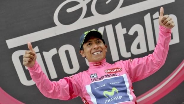 Nairo Quintana, talento della Movistar