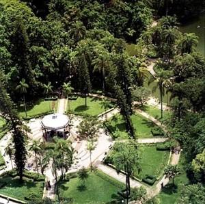 Vista dall'alto del parque municipal a Belo Horizonte, una delle città che ospiterà i mondiali