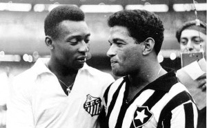 Pelé-Garrincha, la strana coppia dei Mondiali del 1958