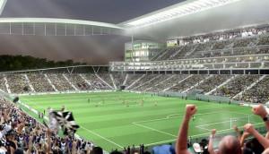 L'Interno dell'Arena Corinthians