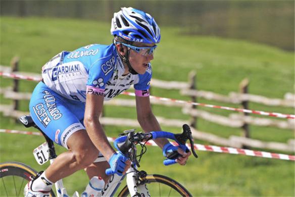 Domenico Pozzovivo è quarto nella classifica generale del Giro d'Italia