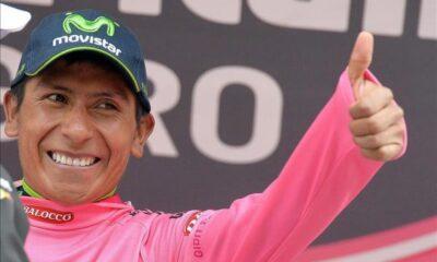 Quintana, il leader del Giro d'Italia