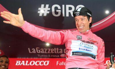 Rigoberto Uran, il leader del Giro d'Italia