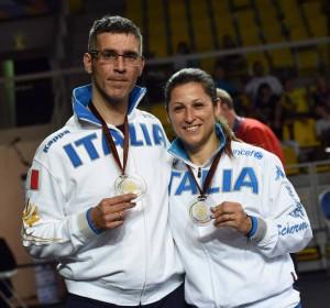 Russo e Trigilia: due bronzi per l'Italia