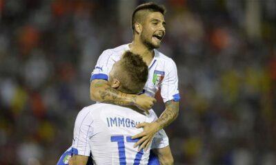 Immobile e Insigne, 5 gol in 2 nell'amichevole contro la Fluminense