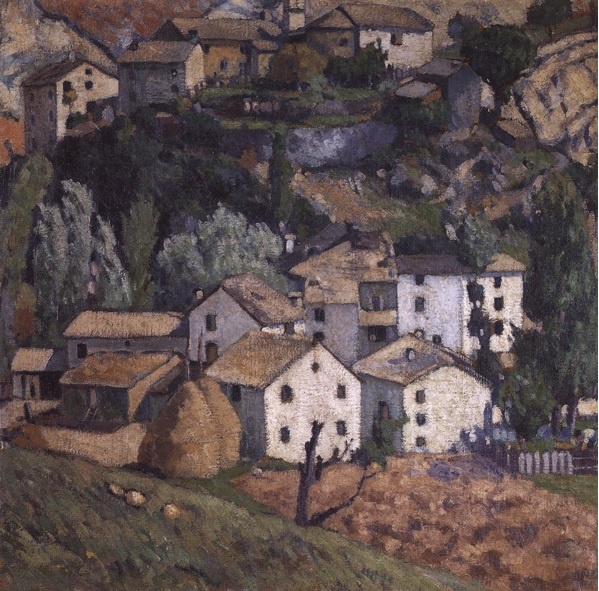 """Ardengo Soffici, """"il Savignone"""" (1909)"""
