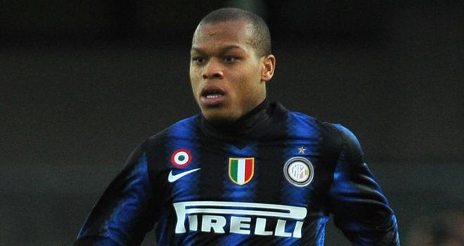 Biabiany con la maglia dell'Inter