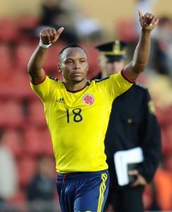 Camilo Zuniga con la maglia della Colombia. Possibile un futuro lontano da Napoli