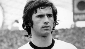 Gerd Muller, attaccante della Germania Ovest negli anni Settanta