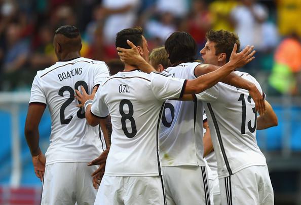 Germania-Portogallo finisce 4-0. Tripletta di Thomas Muller