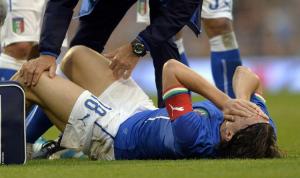 Italia-Irlanda 0-0, infortunio Montolivo