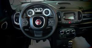 Fiat 500L trekking interni
