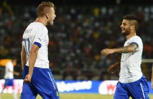Immobile e Insigne, i due protagonisti nell'amichevole contro la Fluminense