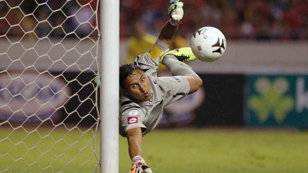 Keylor Navas, uno dei migliori portieri di Brasile 2014. Pagelle Olanda-Costa Rica