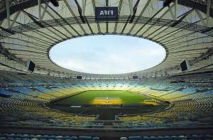 L'Estadio do Maracanã, ospiterà la finale dei Mondiali