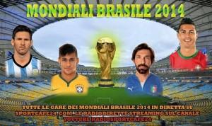 Tutti i Mondiali sono su SportCafe24!