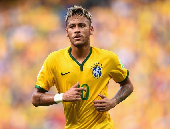 Neymar, attaccante del Brasile