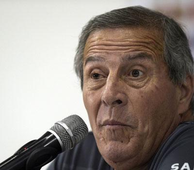Oscar Tabarez, ct dell'Uruguay