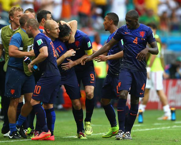 L'Olanda trionfa sulla Spagna: finisce 1-5