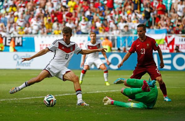 Thomas Muller, attaccante della Germania e del Bayern Monaco