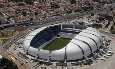 L'Arena das Dunas, sede di quattro incontri nei prossimi mondiali