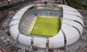 L'Arena das Dunas è stata inaugurata nel 2014