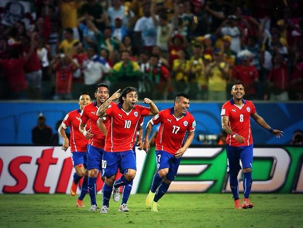 Il Cile batte l'Australia per 3-1