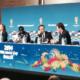 Prandelli e Balotelli parlano nella conferenza della vigilia