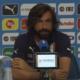 Andrea Pirlo parla in conferenza stampa da Casa Azzurri Mondiali, Italia