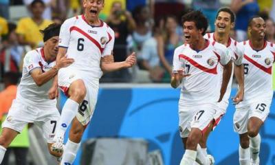 La Costa Rica batte a sorpresa l'Uruguay per 3-1 Mondiale