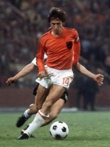 Johan Cruijff, incompiuto del Mondiale 1974.