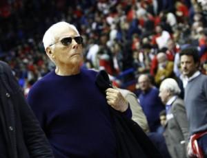 il patron dell'EA7 Olimpia Milano, Giorgio Armani