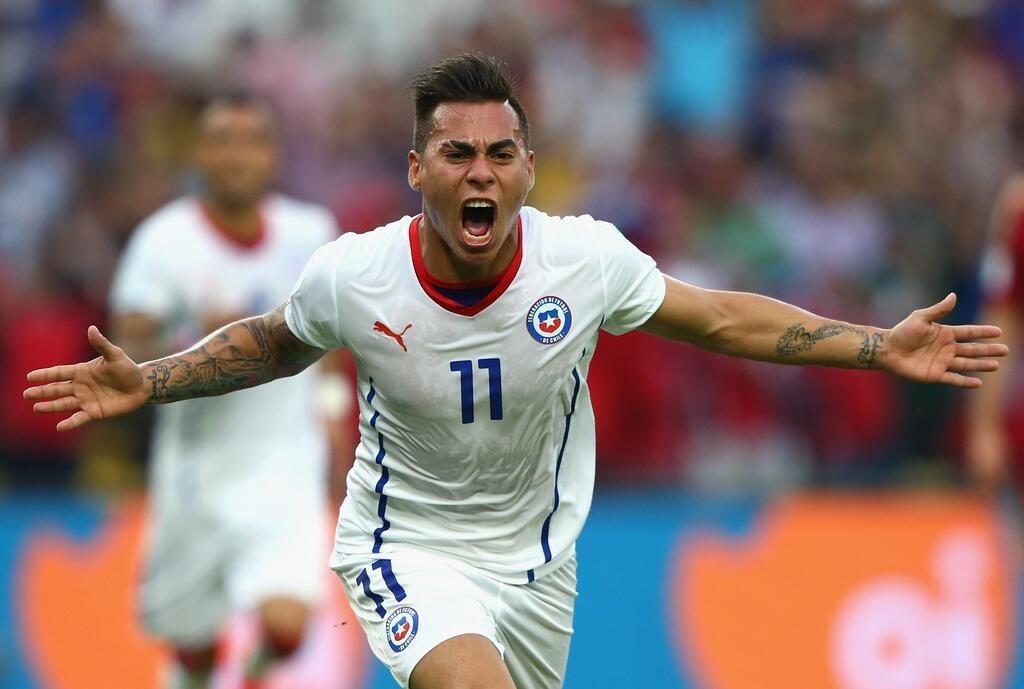 Edu Vargas, campione solo con la maglia del Cile