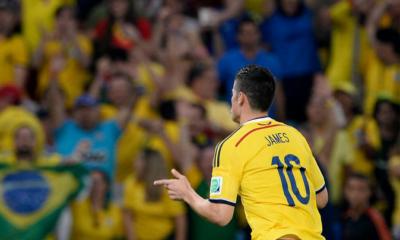 James Rodriguez, capocannoniere del mondiale in Brasile