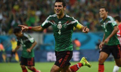 Il capitano del Messico Rafa Marquez.