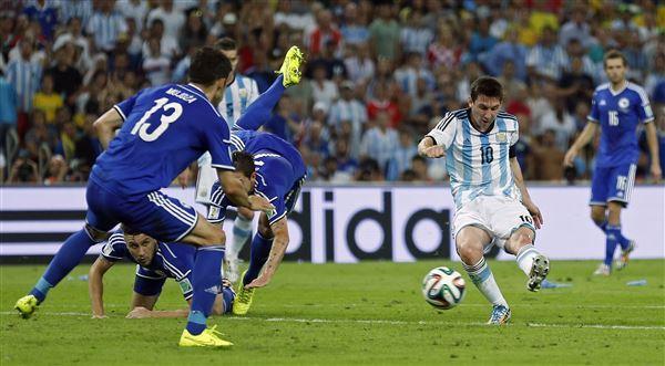 Leo Messi decisivo nel primo match della sua Argentina.