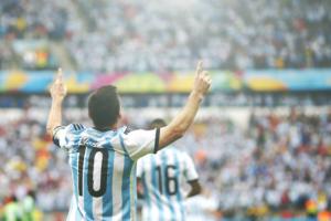Lionel Messi, uno dei migliori nel match tra Argentina e Svizzera