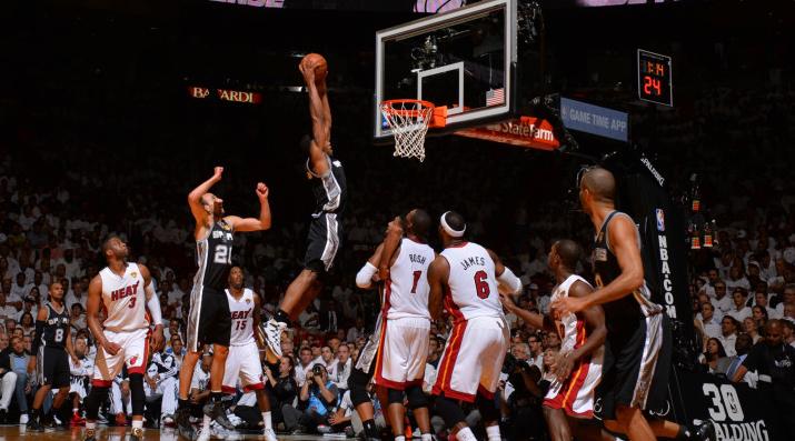 Gli Spurs vincono anche gara 4 contro Miami e avvicinano l'anello