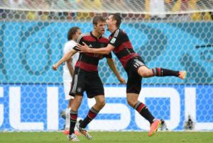 Brasile-Germania 1-7: Thomas Muller è il migliore
