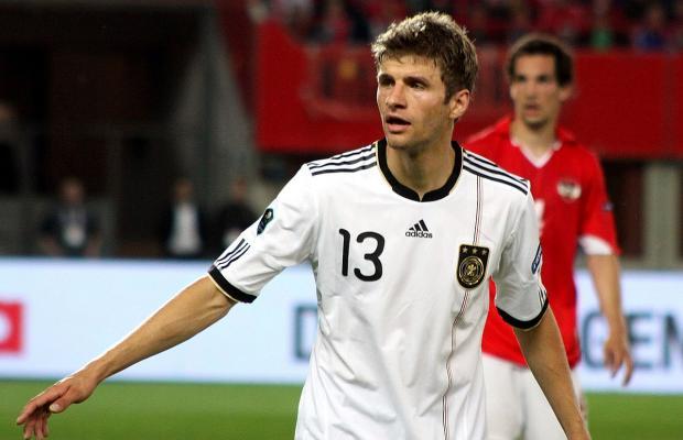 Thomas Müller sfida Messi per il titolo mondiale