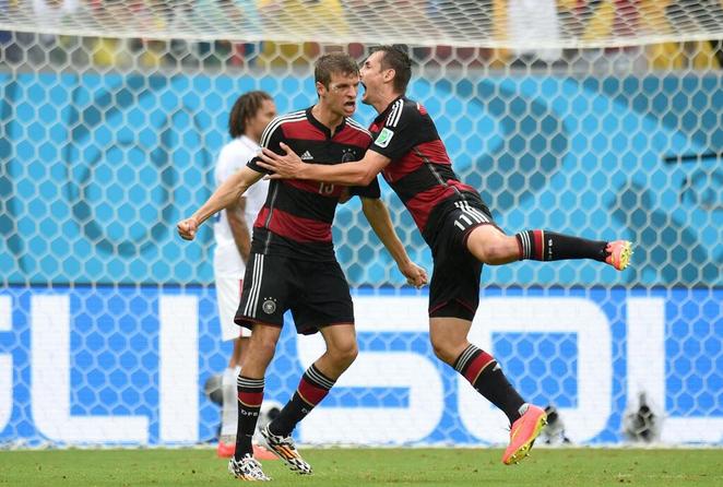 Thomas Muller decide il match contro gli Usa
