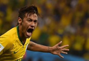 Neymar, il migliore tra i verdeoro in Brasile-Messico