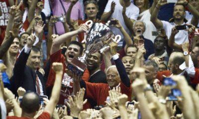 olimpia milano festeggia il 26esimo scudetto