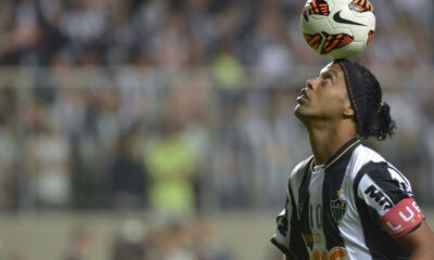 Ronaldinho nell'ultimo periodo brasiliano