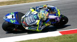 Valentino Rossi, 3° al Mugello, dietro a Marquez e Lorenzo